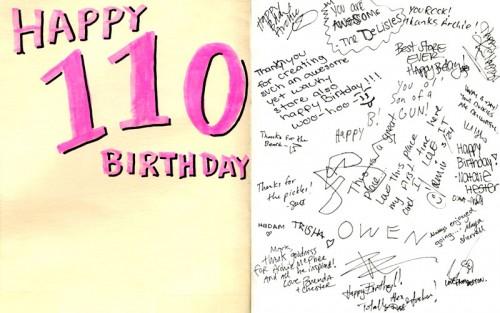 Archie McPhee's Birthday Card