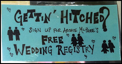 Free Wedding Registry!