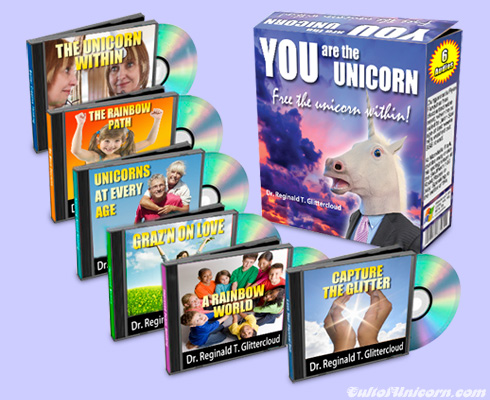 YOU are the Unicorn CD-set
